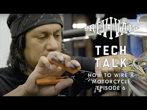 How To Wire A Motorcycle Series,  Episode 6: Tools We Love.