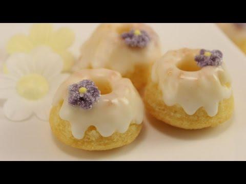 Mini Gugelhupf backen | Mini Gugel mit Buttermilch & Zitrone