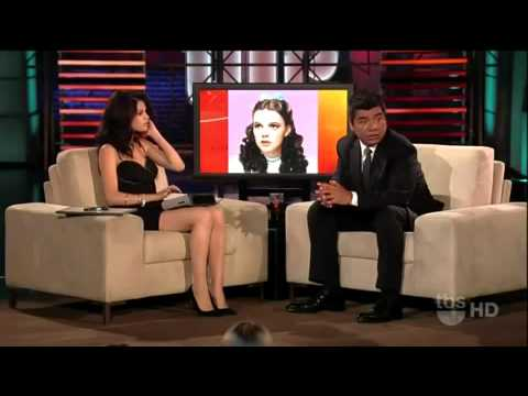 SELENA GOMEZ lost her voice--interview on GEORGE LOPEZ SHOW