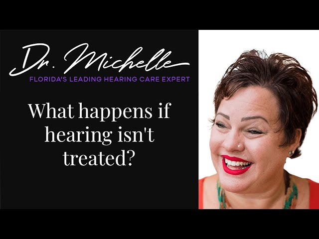 What happens if hearing isn't treated? | Hearing Help by Dr. Michelle