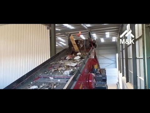 M&K Waste Recycling System featuring Combi Waste Screen, Pic