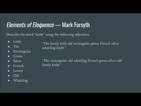 ENG463 Linguistic Theory Presentation