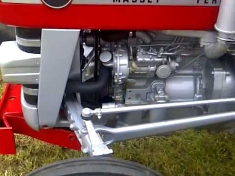 Ford 3 0 Wiring Diagram Massey Ferguson 145 Tractor Restored Like New Youtube