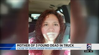 Mother of 3 found dead in truck