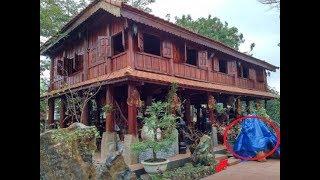 """Căn nhà gỗ và """"báu vật"""" đá quý 14 tấn của đại gia Quảng Nam."""