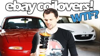 EBAY COILOVERS REVIEW! - I bought them so you don