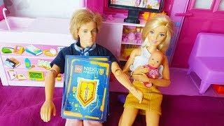 Barbie Po Polsku - KEN ZDRADZA SEKRET BARBIE! Paczuszka LEGO Nexo Knights - zabawki bajki dla dzieci