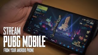 How To Stream PUBG Mobile Live From Your Android Phone ? [Hindi]