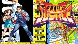 Project Justice: Rival Schools 2 playthrough (Dreamcast)