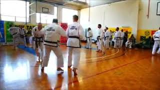 2019 3rd Dan Applicants 2 on 1 Sparring