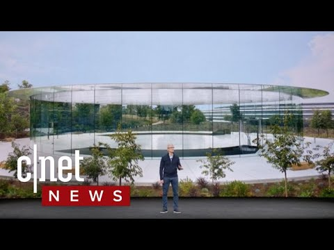 Apple goes green with new Apple Park campus (CNET News)