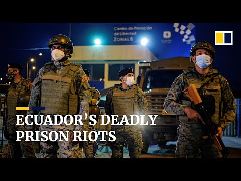 At least 79 inmates killed during Ecuador prison gang riots before police regain control