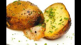 Картошечка печеная, в углях. Всегда получается идеально!