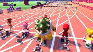 Evolution of Hurdles in Mario and Sonic at the Olympic Games (2008-2020)
