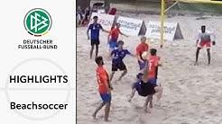 Torwarttore & massig Fallrückzieher | Highlights deutsche Beachsoccer-Liga | Spieltage 6 & 7