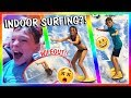 watch he video of CRAZY WATER SLIDES AND SURFING AT THE GREAT WOLF LODGE | VLOG | We Are The Davises