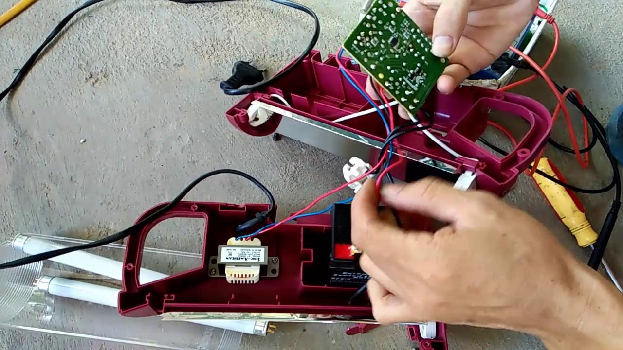 sửa  chữa đèn tíc điện PANASONIC không sáng