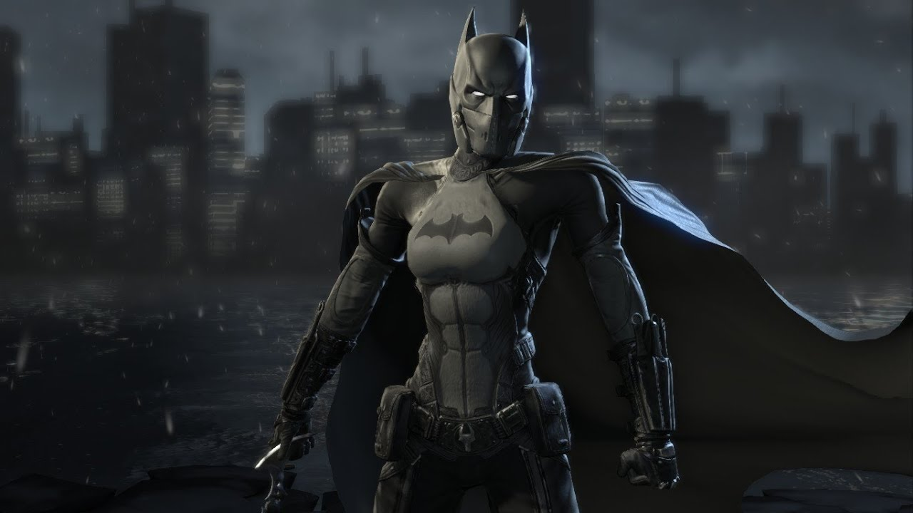 batman arkham origins batgirl mod youtube