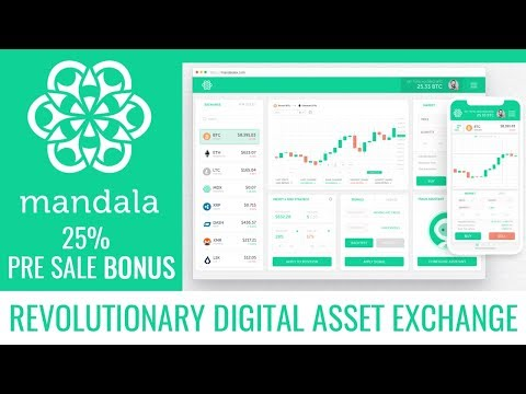 Mandala l Revolutionary Digital Asset Exchange l Simple UI & More!