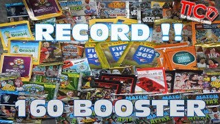 MASSIVE BOOSTER MIX MEGA UNBOXING OPENING ► 160 BOOSTER PACKS NEUER REKORD!!!