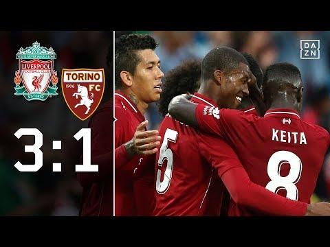 Gewohnter Power-Fußball a la Jürgen Klopp: Liverpool – FC Turin 3:1 | Highlights | Testspiele | DAZN
