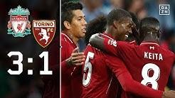 Gewohnter Power-Fußball a la Jürgen Klopp: Liverpool - FC Turin 3:1 | Highlights | Testspiele | DAZN