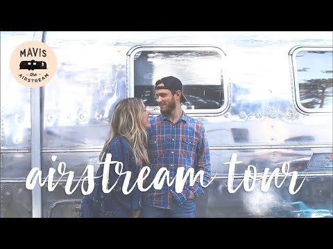 Couple's DIY 1975 Vintage Airstream Remodel