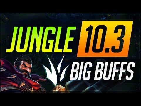 JUNGLE BUFFS Patch 10.3: Everything You NEED to KNOW | League of Legends Guides