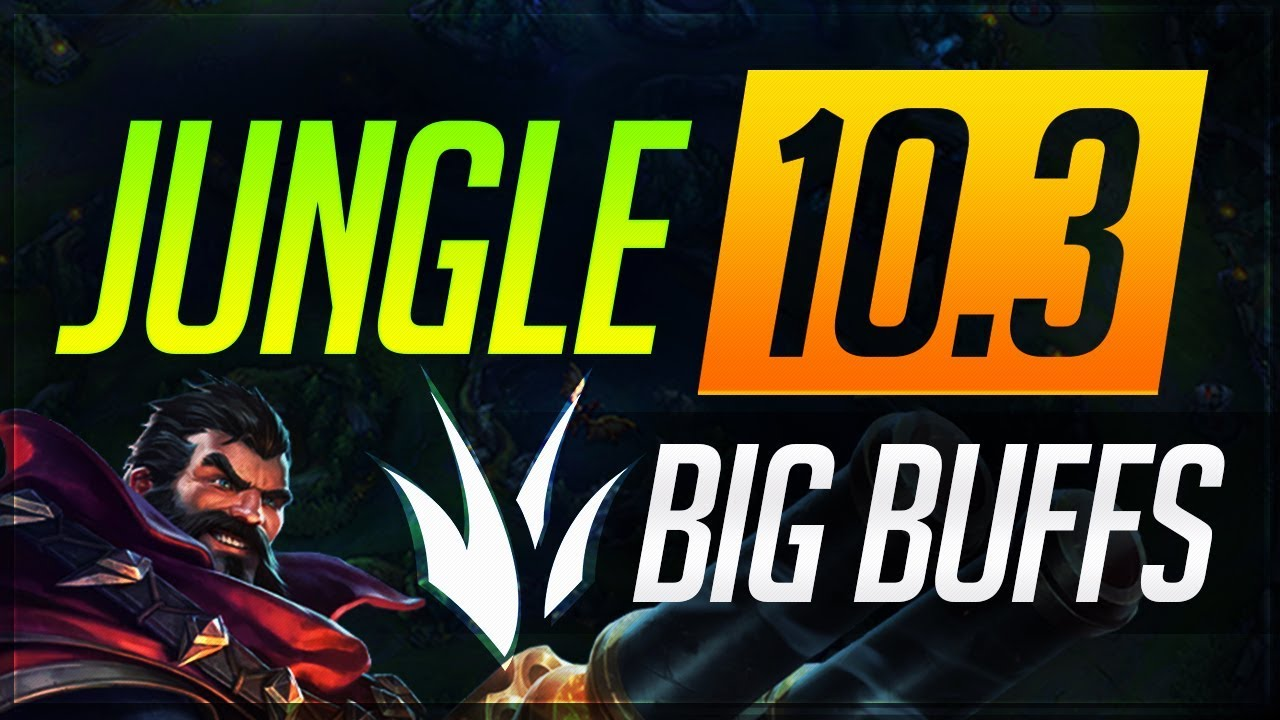 JUNGLE BUFFS Patch 10.3: Everything You NEED to KNOW | League of Legends Guides thumbnail