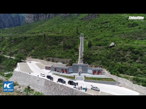 Heavenly road: Cliff highway brings fortune and hope to remote village in Shanxi, China