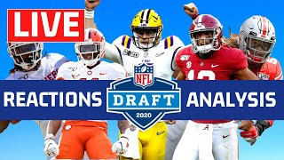 NFL Draft 2020 Live Reactions and First Round Analysis
