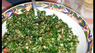 How To Prepae Tabbouleh Salad In 10 Minutes!!  (part 1)