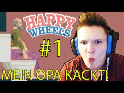 MEIN NEUES LIEBLINGSSPIEL! :D - Happy Wheels #1