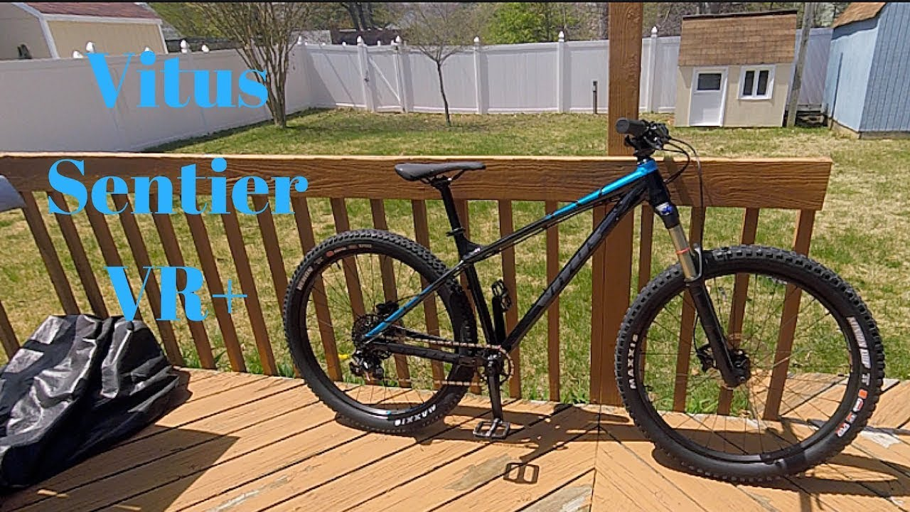 3a352c1c1d9 2018 Vitus Sentier VR+ Overview - YouTube