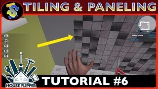 House Flipper Tutorial | How Tiling & Paneling Works | #TipsTricks #HouseFlipperTutorials