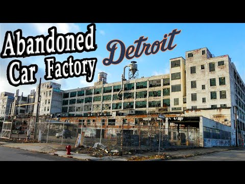 DETROITS ABANDONED CAR FACTORIES - FISHER BODY PLANT 21