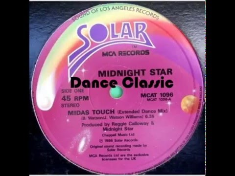 Midnight Star - Midas Touch (Extended Dance Mix)
