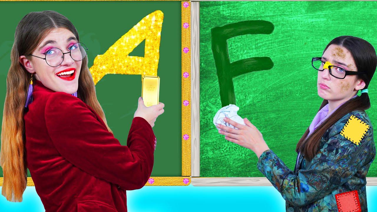 المعلم المحظوظ مقابل المعلم التعيس || مواقف مضحكة