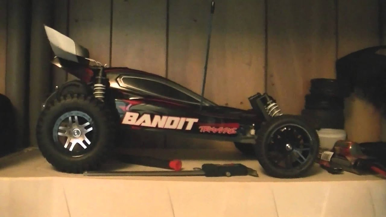 Traxxas Bandit Gets Some New Tires Today