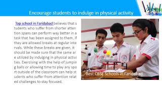 How a Top School in Faridabad Keeps Its Students Focused