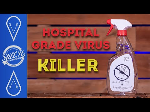 How To Make Hospital Grade Sanitizer At Home (With Calculator) - WHO Formula