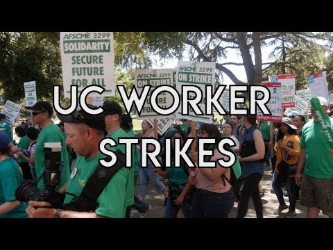 UC Worker Strikes