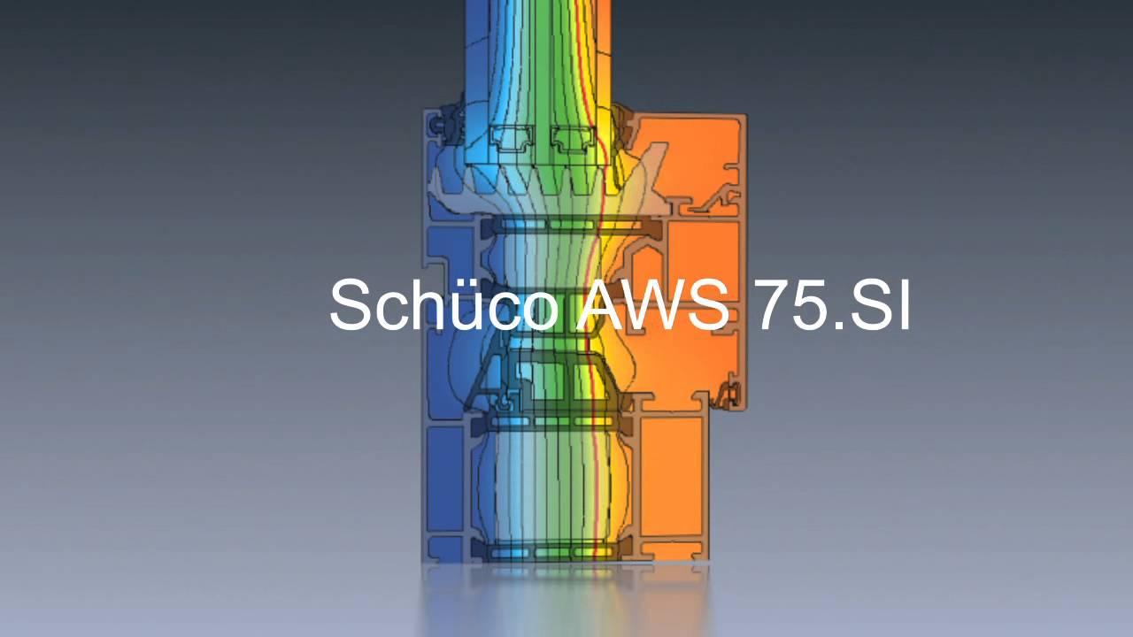 Schüco Aws 75 Si : schuco aws 75 si youtube ~ Yuntae.com Dekorationen Ideen