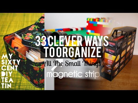 33 Organizing small things ideas