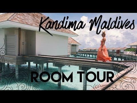 Water Villa Room Tour - Kandima Maldives