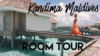Water Villa Room Tour - Kandima Maldives