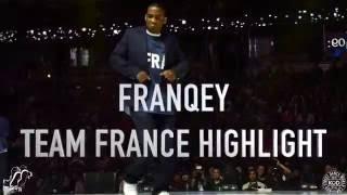 FRANQEY (TEAM FRANCE) | Popping Highlight | KOD World Cup 2016 | #SXSTV