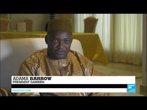 Interview d'Adama Barrow