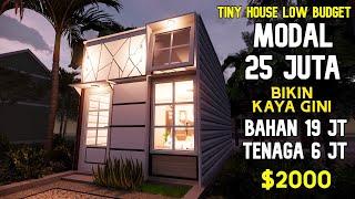 Bangun Rumah 25 Juta Edisi Tiny House Low Budget