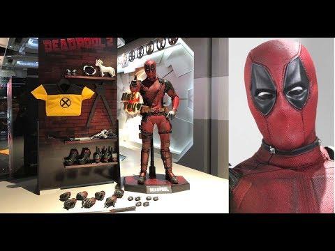 First Look ! Hot Toys Deadpool2
